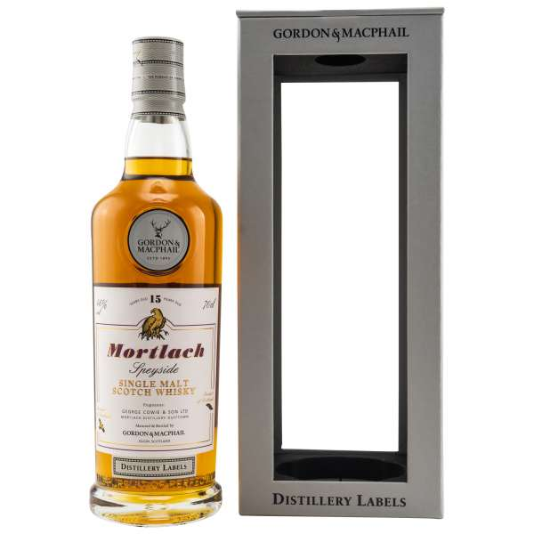 Mortlach Distillery Labels 15 Jahre