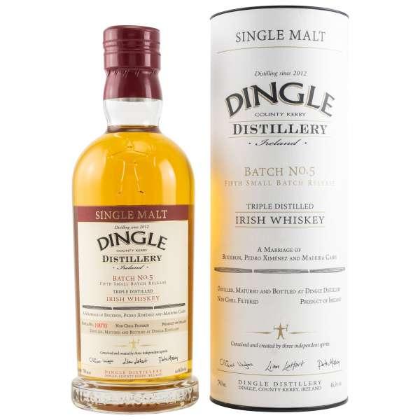 Dingle Single Malt Irish Whiskey - Batch 5
