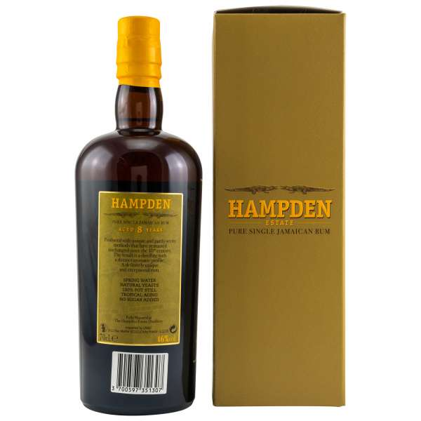 Hampden Pure Single Jamaican 8 Jahre