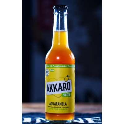 6er Träger AKKARO Zuckerrohr Limonade Siesta ohne Kohlensäure