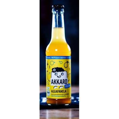 6er Träger AKKARO Zuckerrohr Limonade Fiesta mit Kohlensäure