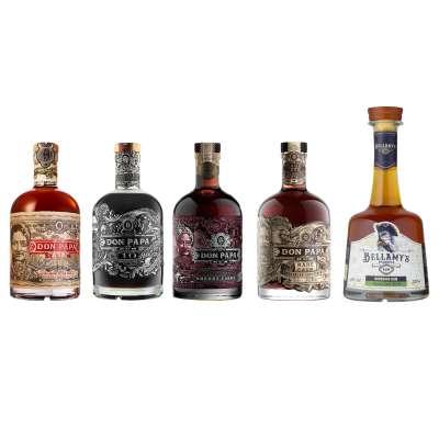 DON PAPA Rum-Tasting Set