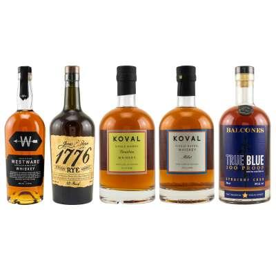 5er Whiskey Tasting-Set USA