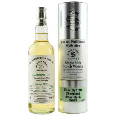 Mortlach 2007/2020 13 Jahre Signatory Un-Chillfiltered
